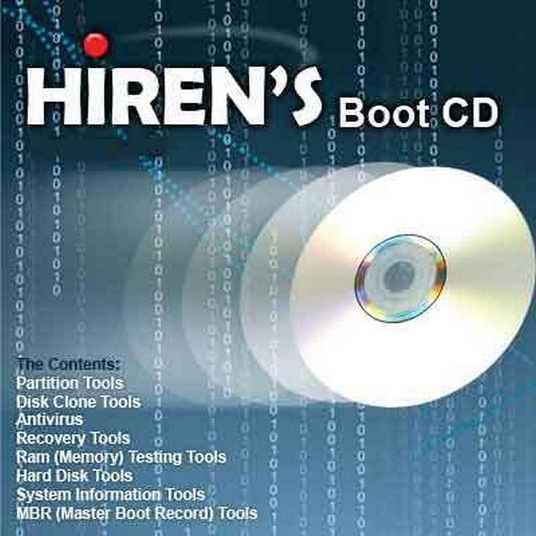 Manual de Hiren's Boot CD: Herramientas para reparar Pc´s