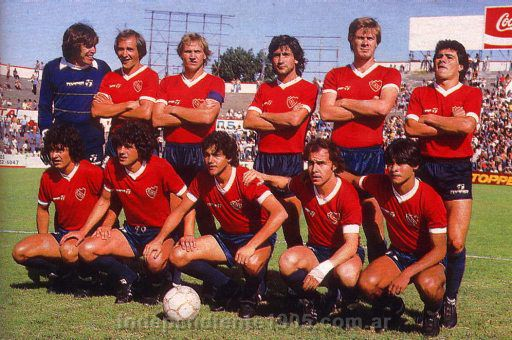 Independiente campeon 1983 y el decenso de racing