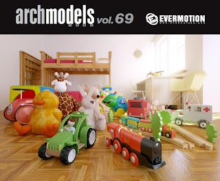 Archmodels vol 69 - 3ds max y vray