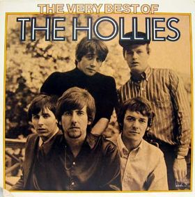 The hollies mujer alta vestida de negro