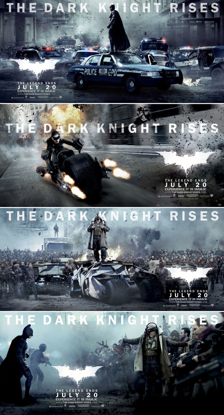The Dark Knight Rises - Countdown - Nuevo Trailer