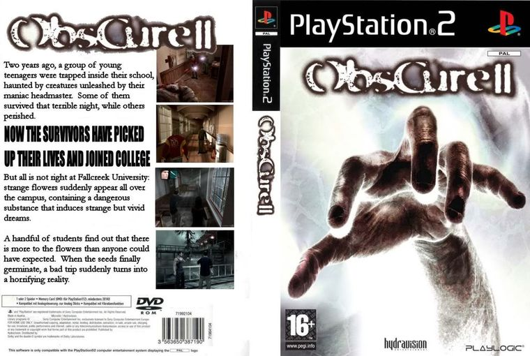 obscure 2 ps2