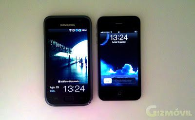 iPhone 4 vs Samsung Galaxy S