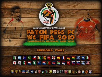 Patch PES6 WC FIFA 2010 (PC)
