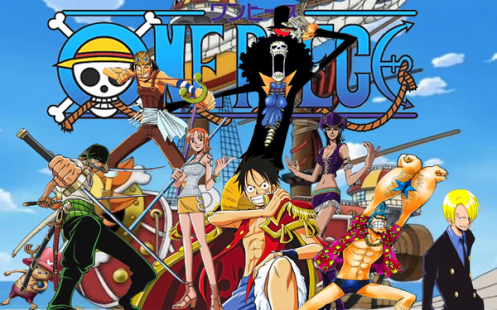 One Piece 2 años despues.