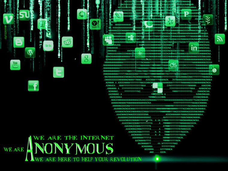 wallpapers de anonymous HD