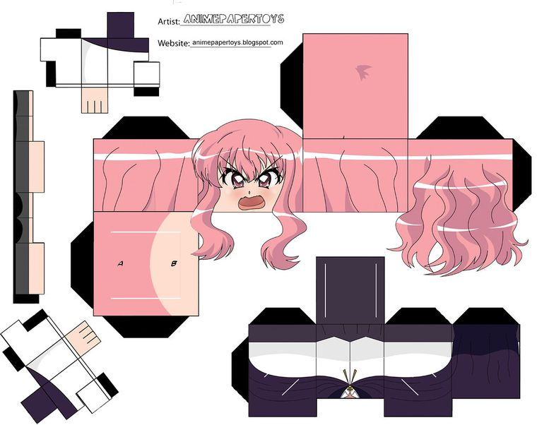 cubeecrafts de anime