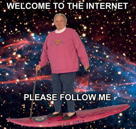 Welcome to Internet!