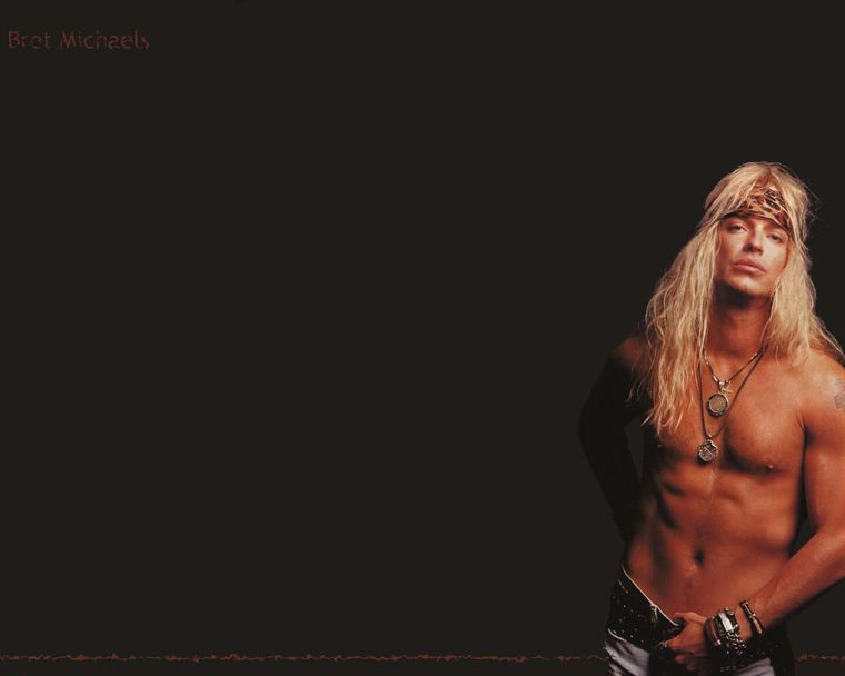 Naked pics of bret michaels — photo 2
