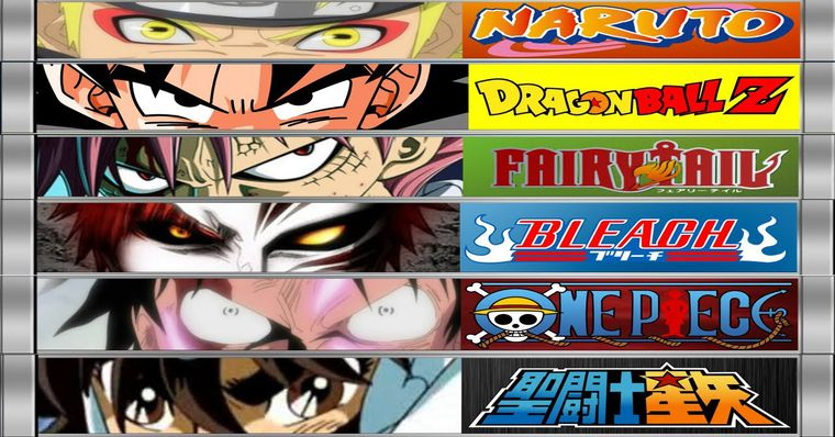 [Aporte] Dragon Ball Vs One Piece Vs Naruto Vs Bleach