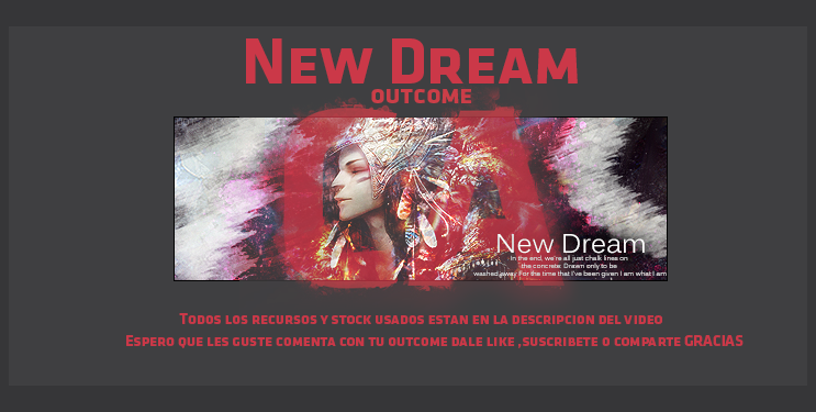 [Tutorial] Creando arte - Firma: New Dream