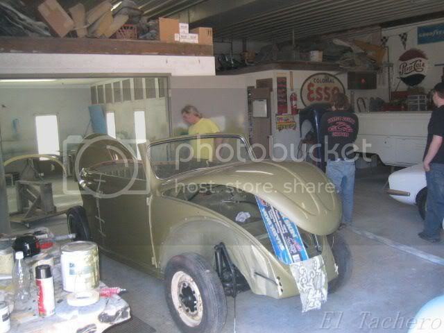 Restauración de un VW Beetle en fotos
