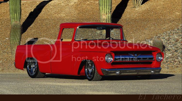 De feo a chulo® en 100 fotos (Pick up Ford 1957)