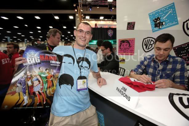 Comic-Con 2011: The Big bang Theory