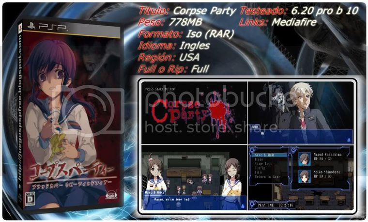 [Aporte] Corpse party [PSP][Full][MF]