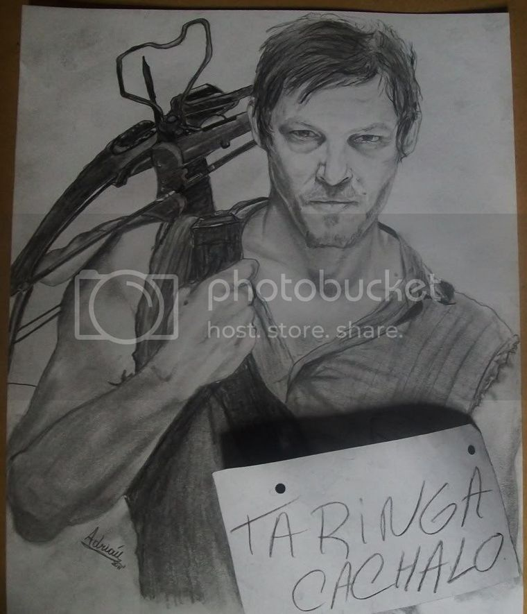 Daryl (the walking dead) retrato