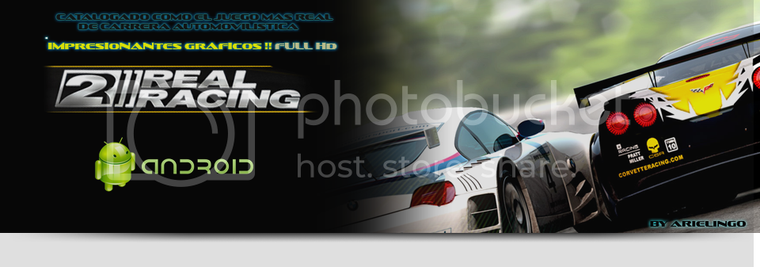 (Aporte) Real Racing 2 ®  | APK + SD
