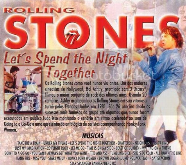 The Rolling Stones - Let's Spend the Night Together 1983