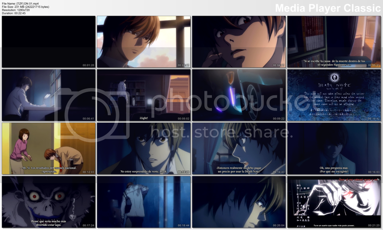 [Aporte] Death Note [HD][1280X720][Sub_Esp]
