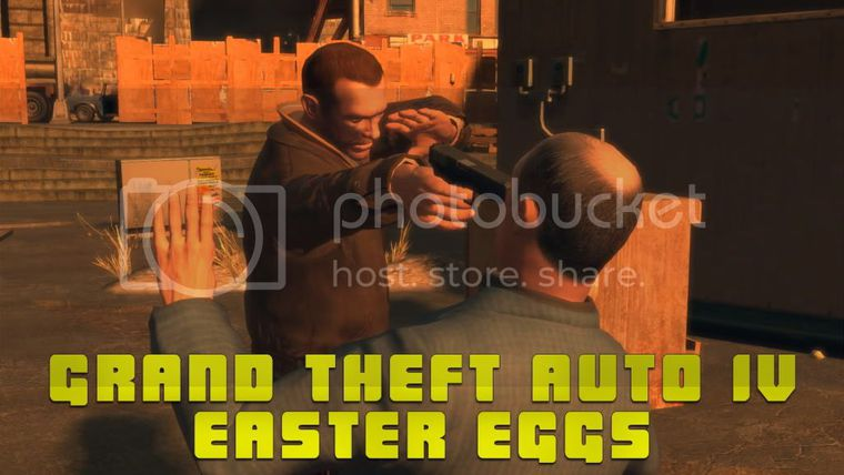 Grand Theft Auto IV Easter Eggs (Update 3)