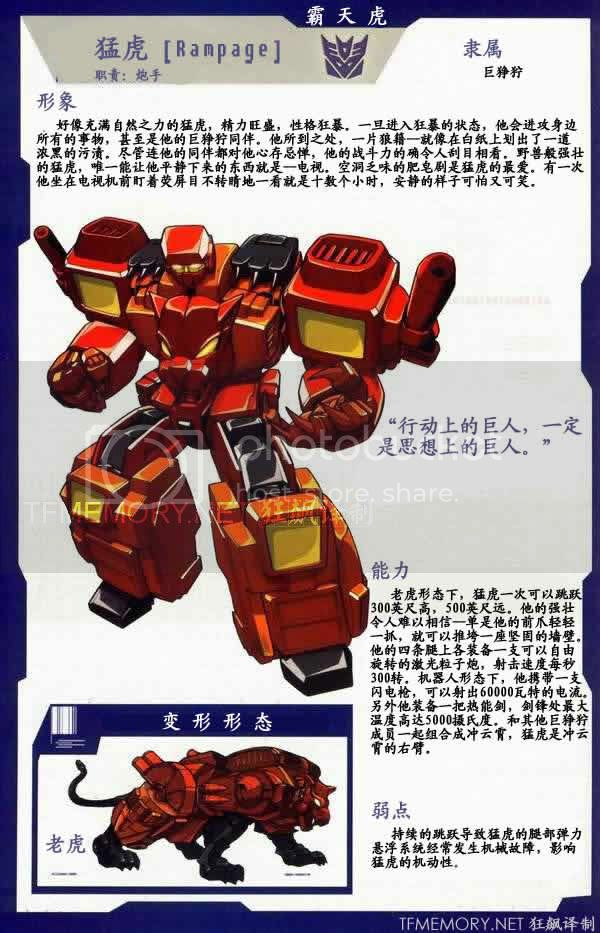 Transformers Gestalts Predaking - Parte 6