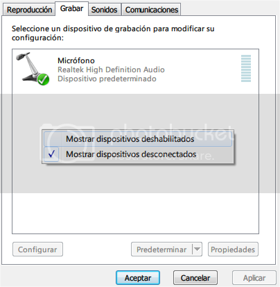 Stereo Mix en Windows 7