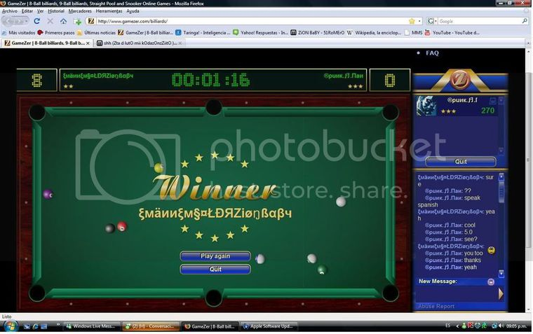 gamezer billiard online