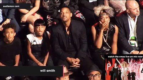 La reacción de la familia de Will Smith a Lady Gaga