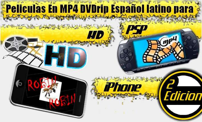 Descargar Peliculas y Videos para PSP en HD y iPhone