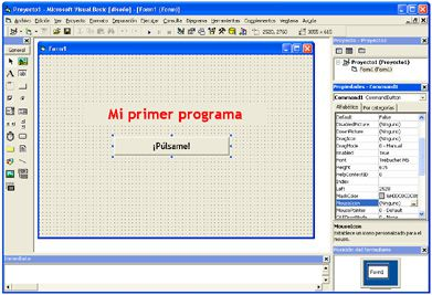 "Visual Basic: ""Mi primer"