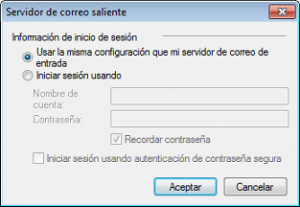 windows live mail iniciar sesion
