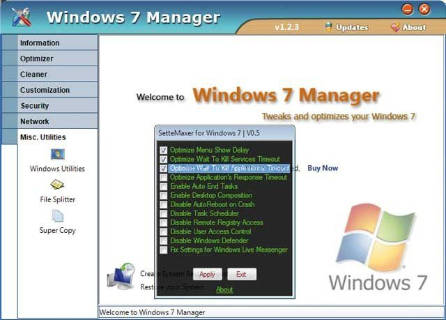 Algunos tips o trucos para windows 7