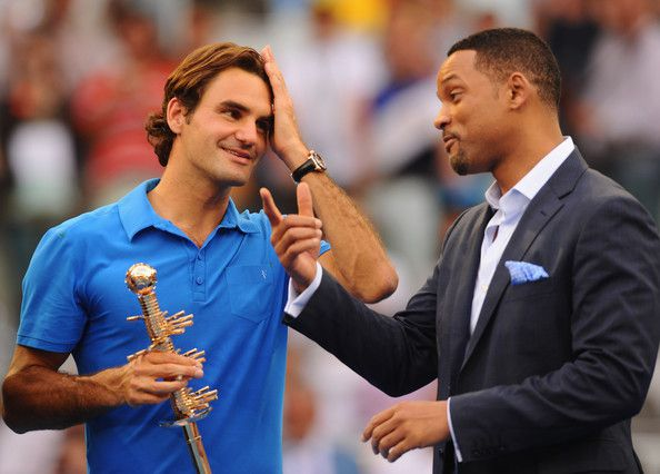 Las fotos de Roger y Will Smith en Madrid