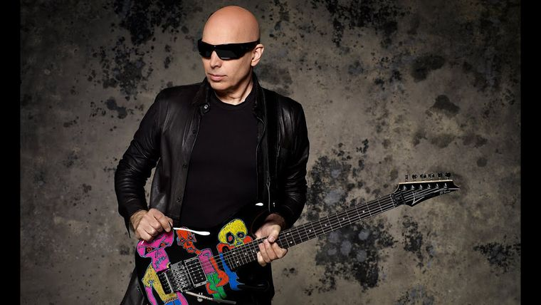 "Joe Satriani y su nuevo álbum ""What happens next"""