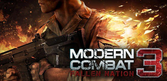 (Aporte)* Modern Combat 3 (online) y 4 APK+SD Android Mega