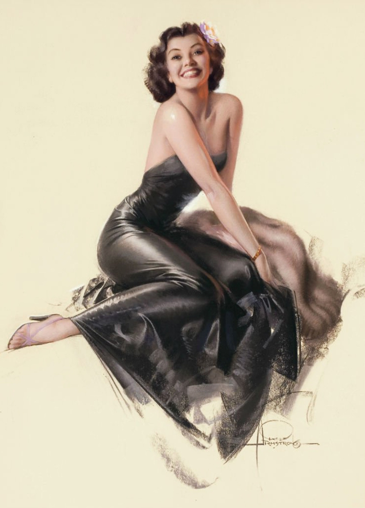 Coleccion pin-up girl, Rolf Armstrong (Bio)