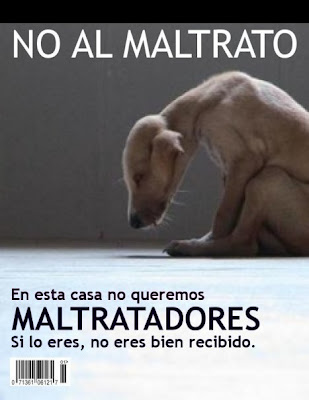No al maltrato animal - [Apoyanos]