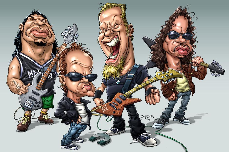 Caricaturas del Rock (No Rocktoon)
