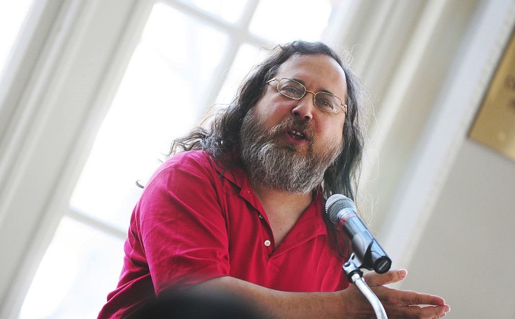 Conferencia de Richard Stallman en Perú