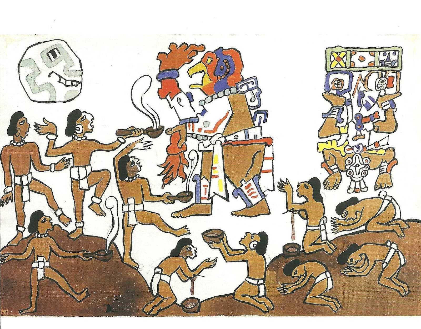 popol vuh Popol vuh, maya document, an invaluable source of knowledge of ancient  mayan mythology and culture written in k'iche' (a mayan language) by a mayan .