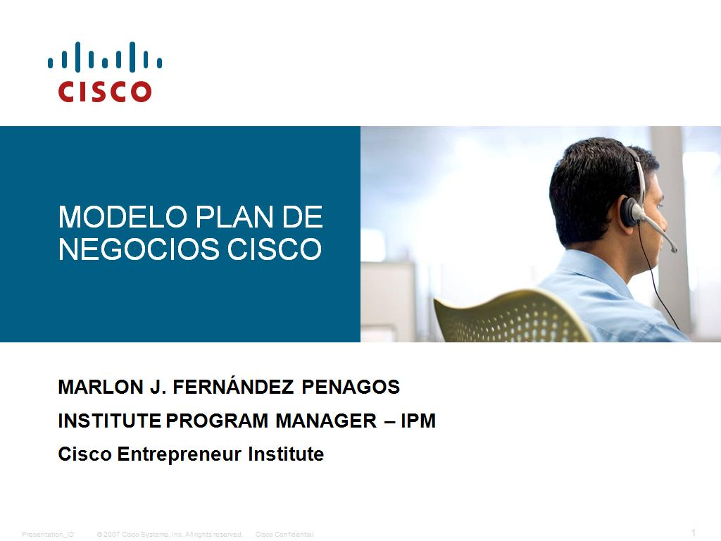 Plan de Negocios - Metodologia Cisco - Descarga