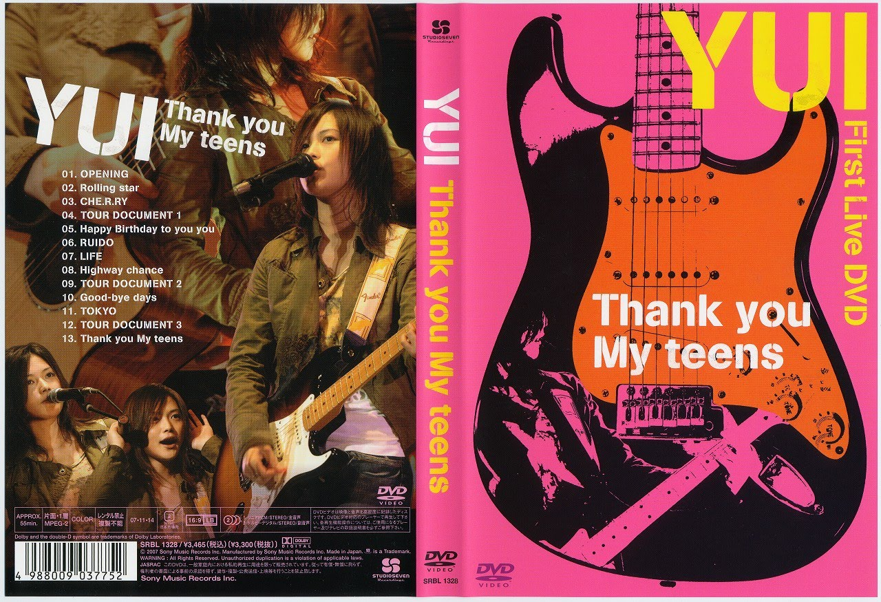 YUI - Thank you My teens [Completo HD]