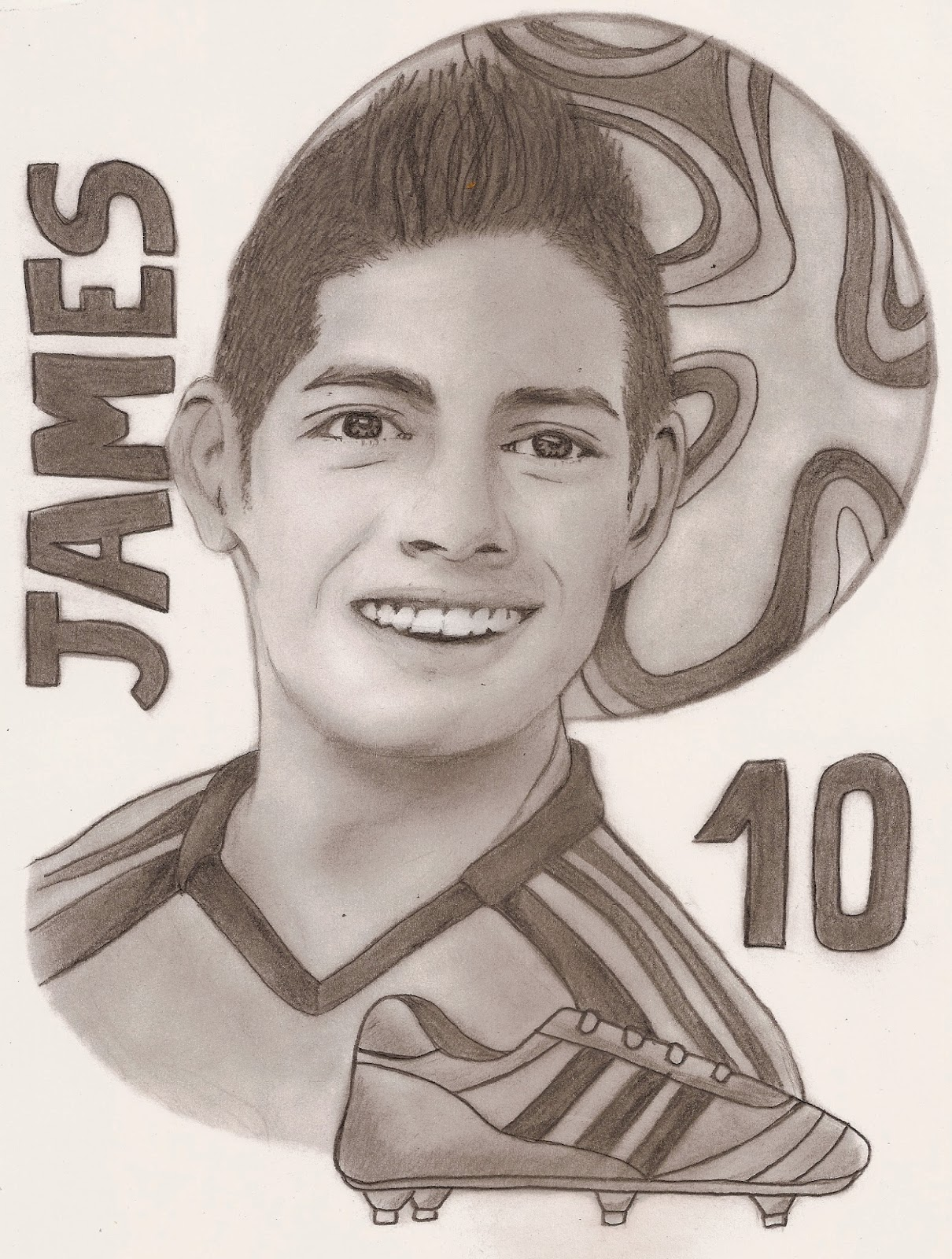 James Rodriguez Sketch 17923 Loadtve