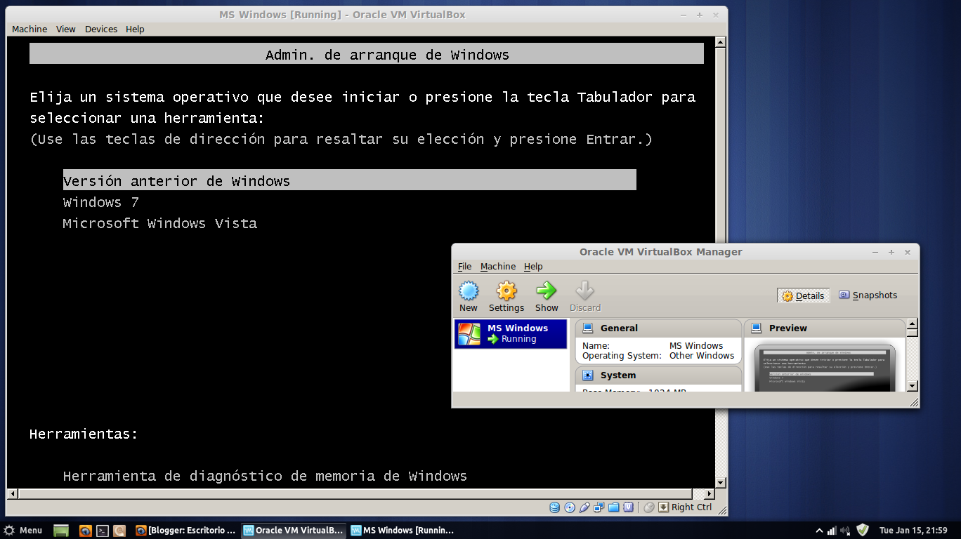 Internet Virtualbox Windows 7/Xp/Vista