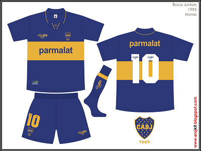 Camisetas Boca Junior