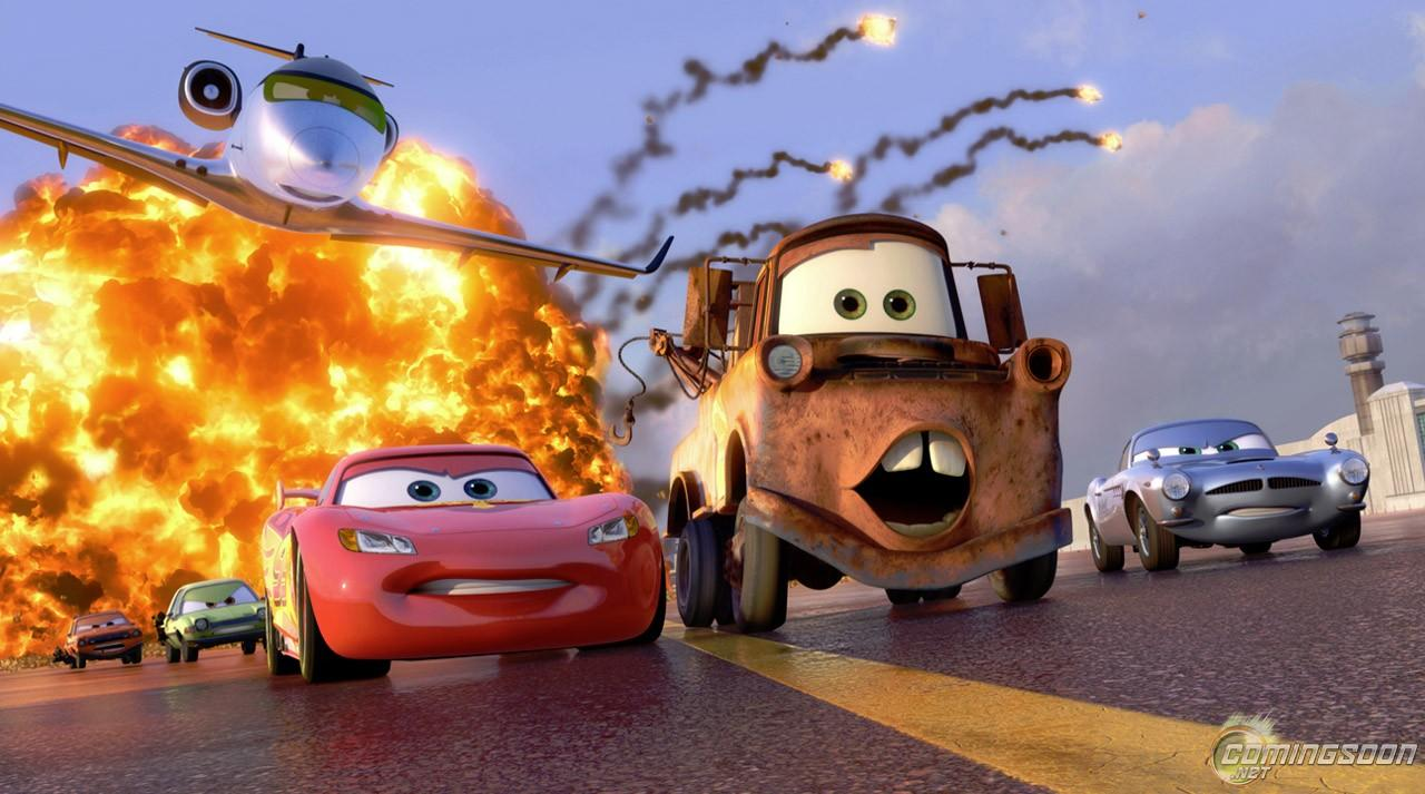 Cars 2 solo en cines