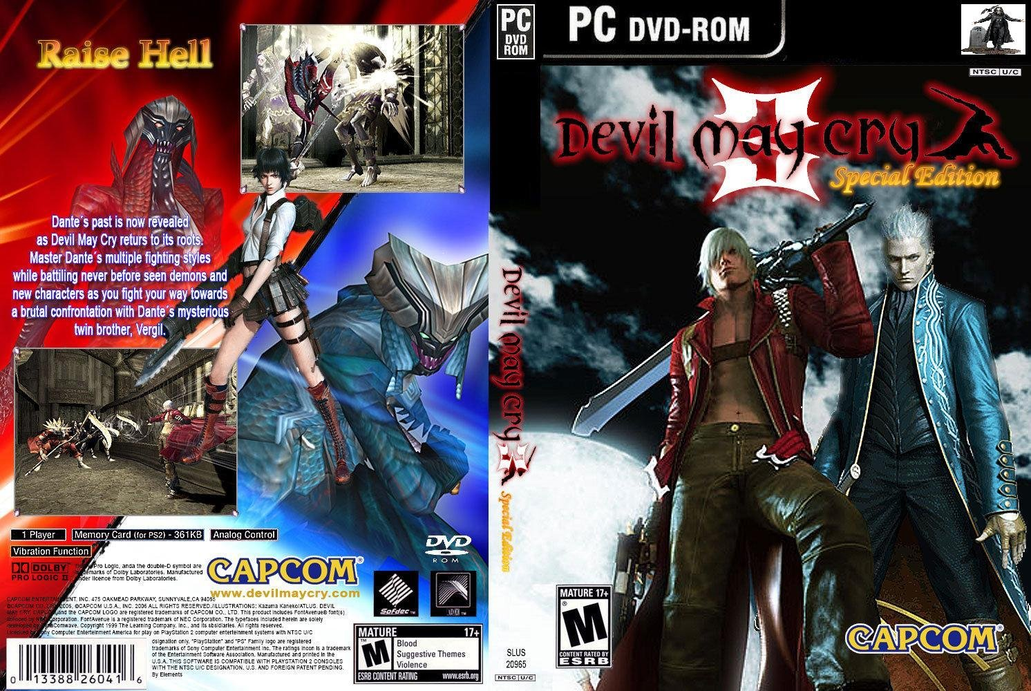 devil may cry 3 escenas de habla/walktrought subs en españo