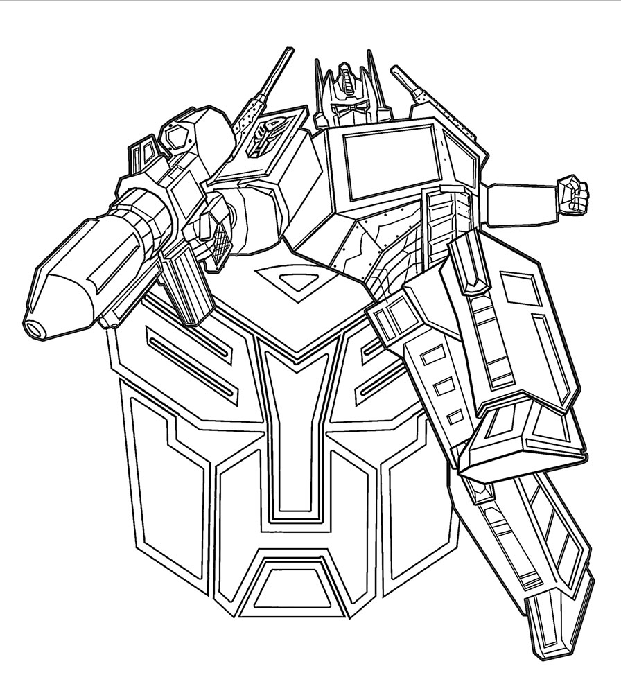 Famoso Transformadores Optimus Prime Para Colorear Fotos - Dibujos ...