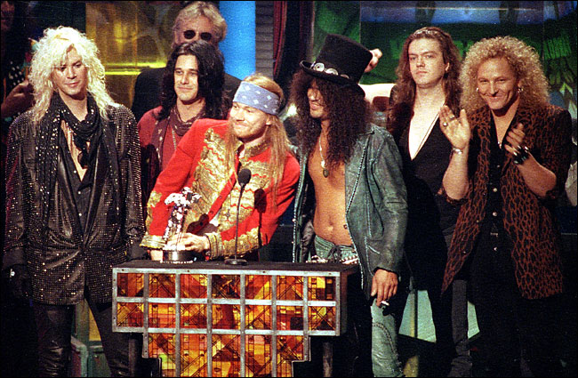 Top 10 canciones de Guns N' Roses