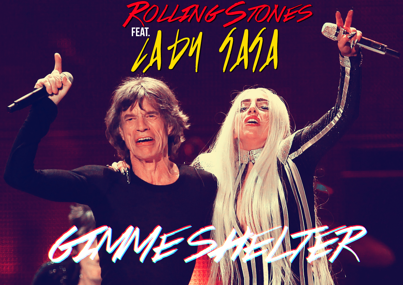 The Rolling Stones - Gimme Shelter (Ft. Lady Gaga)